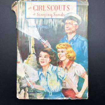 The Girl Scouts at Singing Sands - Product Image