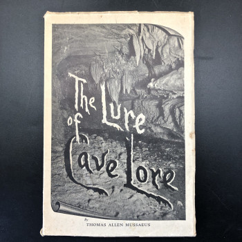 The Lure of Cave Lore, 1939 and post card from author to Clay Perry - Product Image