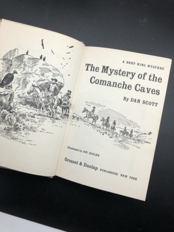 The Mystery of the Comanche Caves - Product Image
