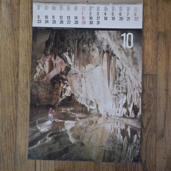 Three pages from a Slovenian calendar - Product Image