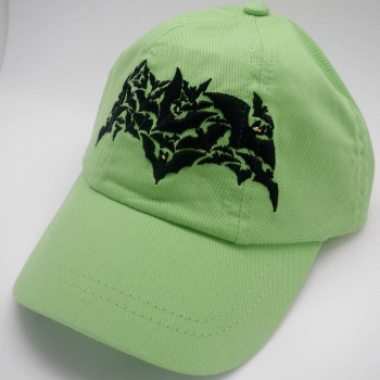 Toddler Embroidered Bat Cap - Product Image