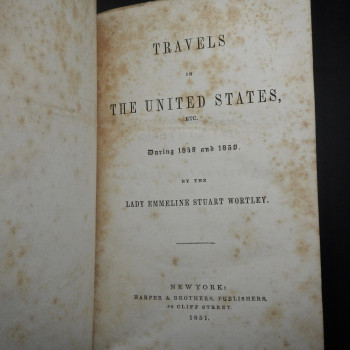 Travels in the United States Etc. During 1849 and 1850 - Product Image