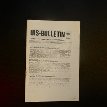 UIS-Bulletin 1984-2 - Product Image