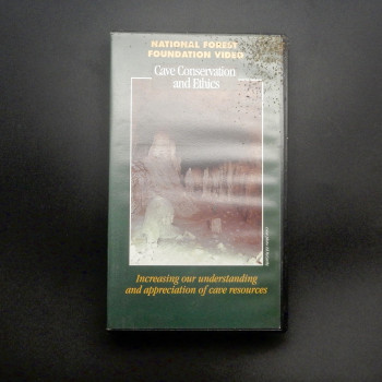 VHS: Cave Conservation and Ethics - Product Image