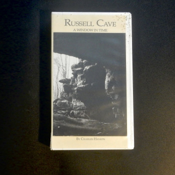 VHS: Russell Cave, A window in Time by Charles Hanion - Product Image