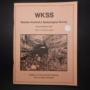 WKSS Western Kentucky Speleological Survey Annual Report 1981 - Product Image