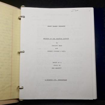 What Waits Below, original script - Product Image