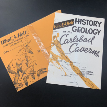 What a Hole, History Geology of the Carlsbad Caverns - Product Image