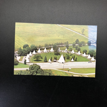 Wigwam Village , Cave City postcard - Product Image