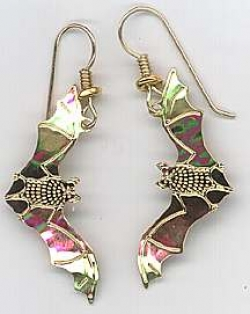 Wild Bryde North American Bat Earrings - Product Image