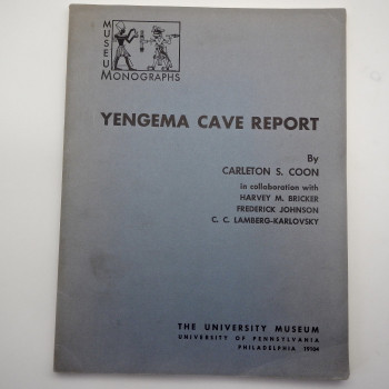 Yengema Cave Report - Product Image